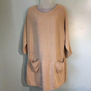 Soft Surroundings sweater tunic dress